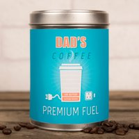 Image of Personalised Coffee Tin - Premium Fuel