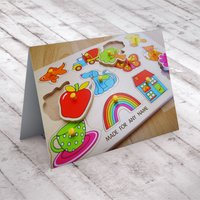 Personalised Card - Wooden Jigsaw - Jigsaw Gifts