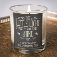 Personalised Scented Candle - This Little Light Of Mine - Candle Gifts