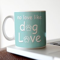 Personalised Mug - Dog Love - Dog Gifts
