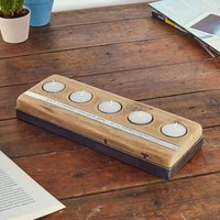 Personalised Reclaimed Wood Tealight Holder - Wood Gifts