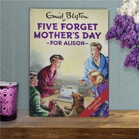 Personalised Five Forget Mother's Day Book - Mothers Day Gifts