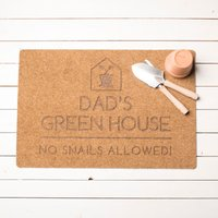 Personalised Greenhouse Outdoor Doormat - Outdoor Gifts