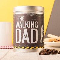 Personalised Coffee Tin - The Walking Dad - Walking Gifts