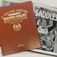 Personalised Newspaper Book - British Cycling Hero - Newspaper Gifts