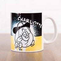Personalised Beano Big Heads Mug - Minnie - Beano Gifts