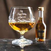 Engraved Crystal Brandy Glass & Brandy Gift Set - Brandy Gifts