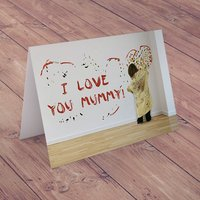 Personalised Card - Wall Painting - Painting Gifts