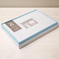 Baby Boy's Album And Keepsake Box