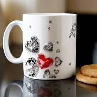 Personalised Mug - Diamonds - Diamonds Gifts