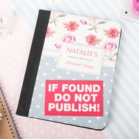 Personalised iPad Case - Do Not Publish