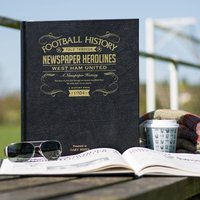 Personalised West Ham Football Book - Football Gifts