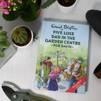 Personalised Five Lose Dad In The Garden Centre Book - Book Gifts