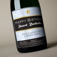 Luxury Personalised Champagne - Birthday For Him