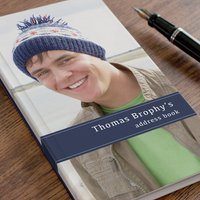Photo Upload Address Book - For Him - Book Gifts