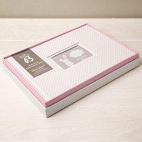 Baby Girl's Album And Keepsake Box