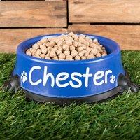 Personalised Single Round Feeding Bowl - Bowl Gifts