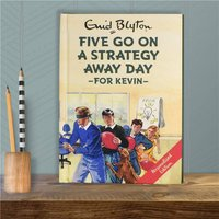 Personalised Five Go On Strategy Away Day Book - Book Gifts