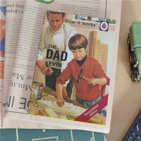Personalised Ladybird Book For Adults - The Dad - Book Gifts