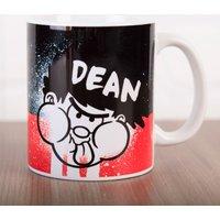 Personalised Beano Big Heads Mug - Dennis - Beano Gifts