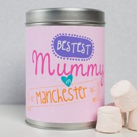 Personalised Hot Chocolate - Bestest Mummy In - Hot Chocolate Gifts