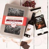 Personalised Emergency Red Wine Kit