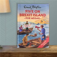 Personalised Five On Brexit Island Book - Book Gifts