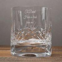 Engraved Crystal Tumbler and Vodka Gift Set - Vodka Gifts