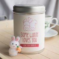 Personalised Hot Chocolate - Some Bunny Loves You - Hot Chocolate Gifts