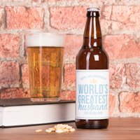 Personalised Beer - World's Greatest Husband, 10th Anniversary - Husband Gifts