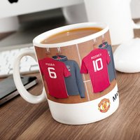 Personalised Manchester United Mug - Cutlery Gifts