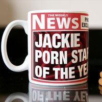 Photo Upload Mug - Porn Star of the Year - Porn Gifts