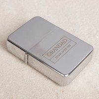Engraved Lighter - Grandad Established - Grandad Gifts