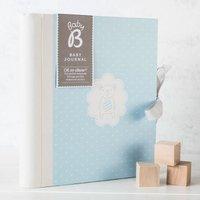 Busy B Baby Boy Journal - Baby Boy Gifts
