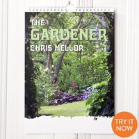 Personalised Gardening Calendar - 1st Edition - Gardening Gifts