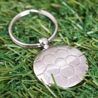Engraved Football Keyring - Football Gifts