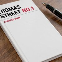 Personalised Address Book - Street Name - Book Gifts