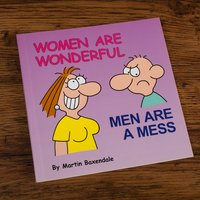 Women Are Wonderful Men Are A Mess Gift Book - Women Gifts
