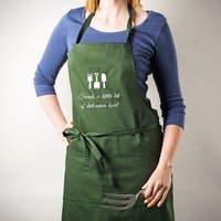 Personalised Gardening Apron - A Little Bit Of Dirt Never Hurt - Gardening Gifts