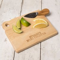 Personalised Mini Chopping Board - Chopping Board Gifts