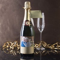 Personalised Luxury Champagne - 50th Anniversary - 50th Gifts