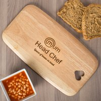 Personalised Colonial Large Chopping Board - Head Chef - Chef Gifts