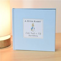 Personalised Peter Rabbit's Little Guide To Life