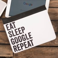 Personalised iPad Case - Eat Sleep Repeat