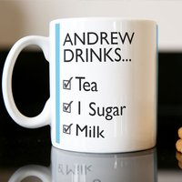 Photo Upload Mug - One Sugar Or Two - Cutlery Gifts