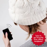 Wireless Knitted iMusic Hat - Gadgets Gifts