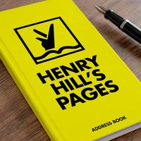 Personalised Address Book - Coloured Pages - Book Gifts