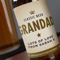 Personalised Beer - Classic - Beer Gifts