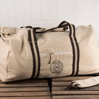 Personalised Canvas Holdall - Travel Bag - Travel Gifts
