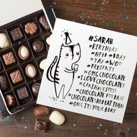 Personalised Belgian Chocolates - Banter Pants, Birthday Hashtag - Chocolates Gifts